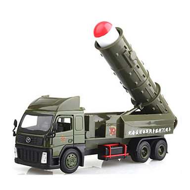 Speelgoedauto's Terugtrekvoertuigen Legervoertuig Speeltjes Trein Metaallegering Metaal Chinese stijl Stuks Niet gespecificeerd Geschenk