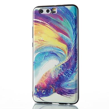 Voor Hoesje cover Patroon Achterkantje hoesje dier Zacht TPU voor Huawei Huawei P10 Plus Huawei P10 Lite Huawei P10 Huawei P9 Huawei P9