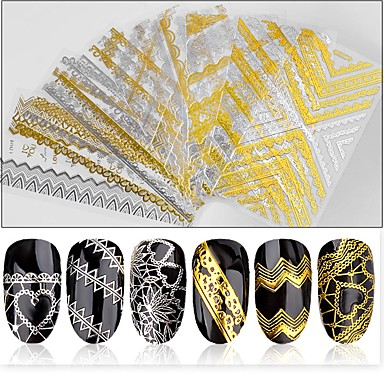 1 pcs Nail Decals Stickers & Tapes Nail Art Design