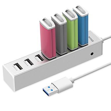 7 Ports USB-hub USB 3.0 Met Wire Mangement Data Hub