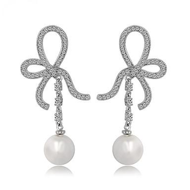 Dames Sieraden Uniek ontwerp Modieus Euramerican Kostuum juwelen Parel Zirkonia Legering Sieraden Sieraden Voor Bruiloft Verjaardag