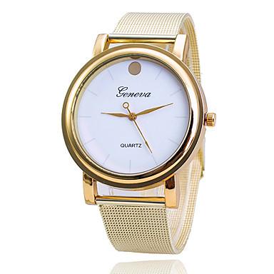 Heren Dress horloge Modieus horloge Japans Kwarts Legering Band Bedeltjes Vrijetijdsschoenen Elegante horloges Goud