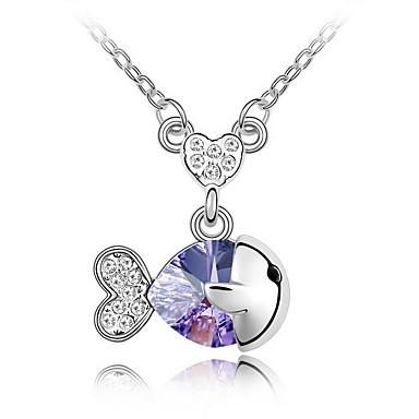 Pentru femei Lănțișoare Bijuterii Bijuterii Cristal Aliaj Modă Euramerican Bijuterii Pentru Nuntă Petrecere