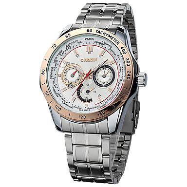 Herrn Armbanduhr Kleideruhr Modeuhr Armbanduhren für den Alltag Chinesisch Quartz Metall Band Charme Elegant Cool Mehrfarbig