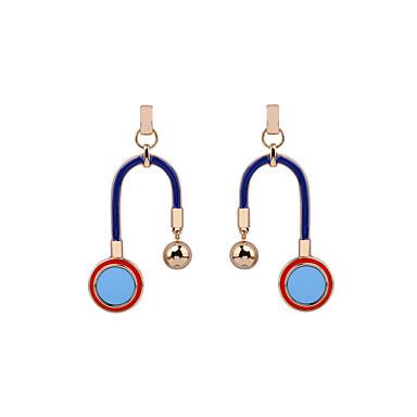 Dames Druppel oorbellen Sieraden Luxe Meetkundig Hart Strik zijdelings Eenvoudige Stijl Legering Geometrische vorm Sieraden Verjaardag