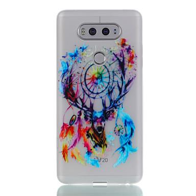 غطاء من أجل LG يضوي ليلاً نموذج غطاء خلفي فراشة حيوان ملاحق الأحلام ناعم TPU إلى LG K10 LG K8 LG K7 LG K5 LG G6 LG G5 LG V20 LG X Screen