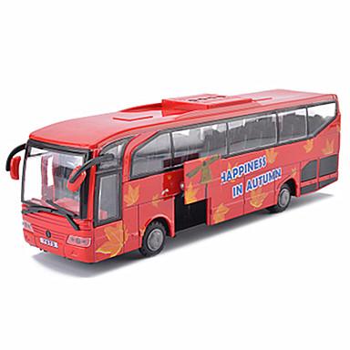 Terugtrekvoertuigen Constructievoertuig Speeltjes Bus Metaal Stuks Geschenk