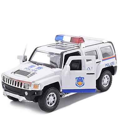 لعبة سيارات سيارات السحب سيارة الشرطة ألعاب محاكاة سيارة حصان سبيكة معدنية معدن قطع للجنسين صبيان هدية
