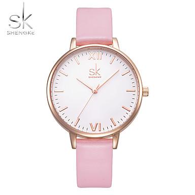 Dames Dress horloge Modieus horloge Armbandhorloge Chinees Kwarts Waterbestendig Stootvast Leer PU Band Amulet Luxe Informeel Elegant