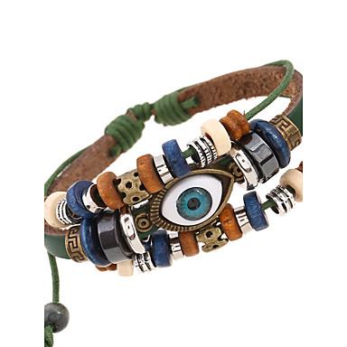 Bărbați Pentru femei Bratari din piele Bijuterii Natură La modă costum de bijuterii Piele  Aliaj Bijuterii Pentru Ocazie specială