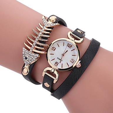 Pentru femei pentru Doamne Ceas La Modă Ceas de Mână Ceas Brățară Unic Creative ceas Ceas Casual Quartz PU BandăCharm Cool Casual