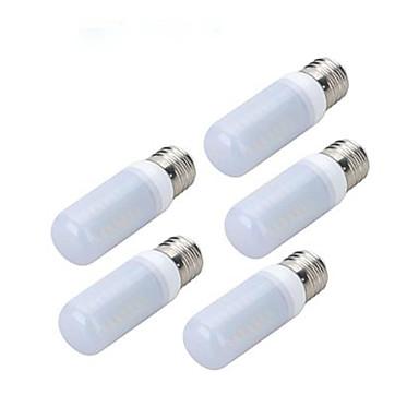 4W E27 Becuri LED Corn 56 LED-uri SMD 5730 Alb Rece 200-300lm 6500K AC 220-240V
