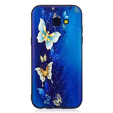 غطاء من أجل Samsung Galaxy A5(2017) A3(2017) نموذج غطاء خلفي فراشة ناعم TPU إلى A3 (2017) A5 (2017) A5(2016) A3(2016)