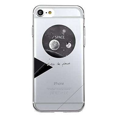 Für Hüllen Cover Muster Rückseitenabdeckung Hülle Geometrische Muster Cartoon Design Weich TPU für Apple iPhone 7 plus iPhone 7 iPhone 6s
