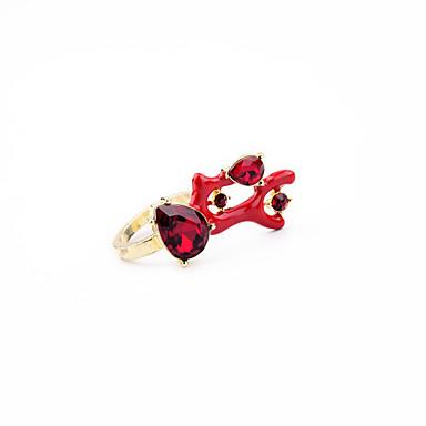 Damen Ring Einzigartiges Design individualisiert nette Art Aleación Schmuck Für Hochzeit Party Geburtstag