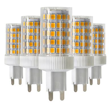 10W G9 LED Doppel-Pin Leuchten T 86 SMD 2835 850-950 lm Warmes Weiß Kühles Weiß Natürliches Weiß 2800-3200/4000-4500/6000-6500 K