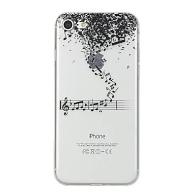 Maska Pentru Apple iPhone X iPhone 8 Model Capac Spate Desene Animate Moale TPU pentru iPhone X iPhone 8 Plus iPhone 8 iPhone 7 Plus
