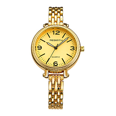 REBIRTH Pentru femei Quartz Ceas de Mână Chineză cald Vânzare Aliaj Bandă Charm Modă Argint Auriu