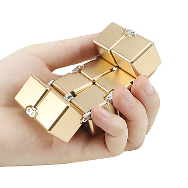 Cuburi de infinit Cuburi Magice Infinity Spinner antistres Fidget Jucarii Ameliorează ADD, ADHD, anxietate, autism Birouri pentru birou