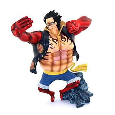 Anime de acțiune Figurile Inspirat de One Piece Monkey D. Luffy PVC 17.5cm CM Model de Jucarii păpușă de jucărie