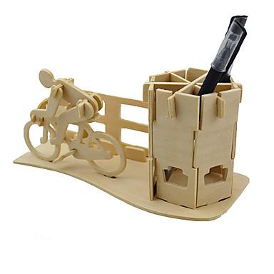 Puzzle 3D Modelul lemnului Jucarii Jucarii Lemn Unisex Bucăți