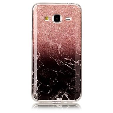 hoesje Voor Samsung Galaxy J7 (2016) J5 (2016) IMD Patroon Achterkantje Marmer Zacht TPU voor J7 (2016) J7 J5 (2016) J5 (2017) J5 J3 J3