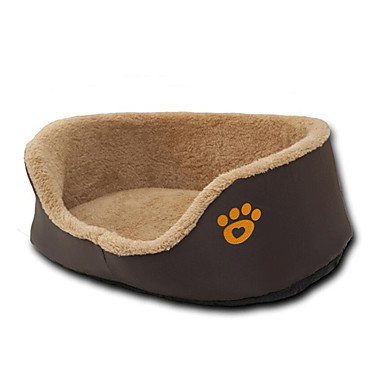 Câine Paturi Animale de Companie  Rogojini & Pernuțe Footprint / Paw Cald Respirabil Gros Durabil Comfortabil