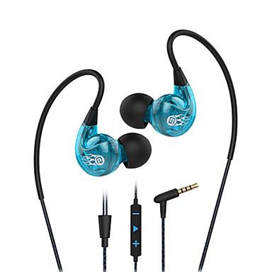Langsdom sp90 set de căști pentru ureche anti-zgomot și microfon de control al volumului cu fir cu fir
