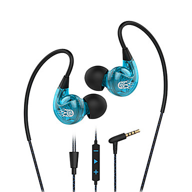 Langsdom sp90 anti-geluid oor headset en microfoon volumeregeling bedrade headset