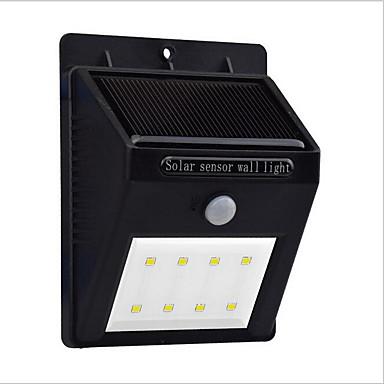 LED solar motion sensor licht 8 leds kaltweiß die menschlichen körper sensoren 1 stück