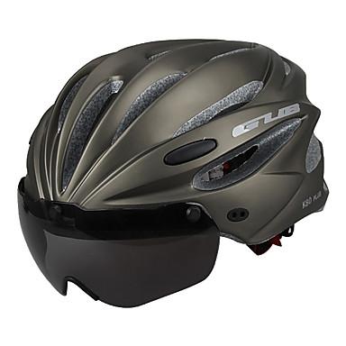 biciclete Casca Ciclism N/A Găuri de Ventilaţie Ajustabil Ultra Ușor (UL) Sporturi Ciclism montan Ciclism stradal Ciclism recreațional