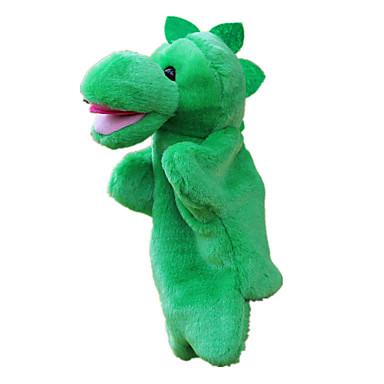 دمى عرائس كلب لليد ألعاب محشوة ألعاب ديناصور جذاب حجم كبير محبوب قماش قطيفة قطيفة للأطفال قطع