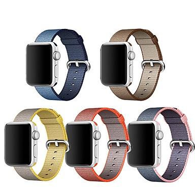 Bracelet de Montre  pour Apple Watch Series 3 / 2 / 1 Apple Boucle Classique Nylon Sangle de Poignet