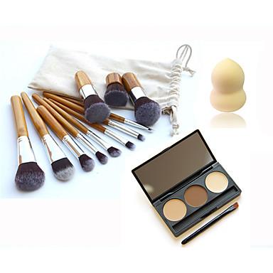 Concealer/Contour+Wenkbrauwen Poederdons/Cosmeticaspons Make-up borstels Droog Concealer Oneffen huidtint Overige