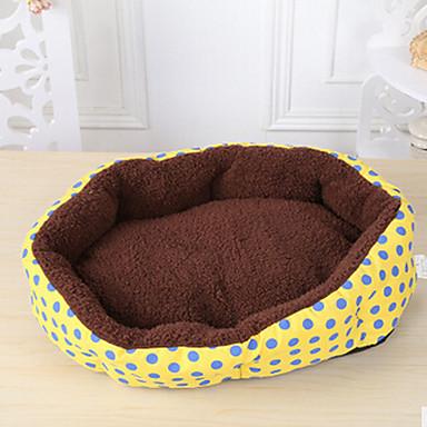 Hund Betten Haustiere Matten & Polster Punkt Gelb Blau Rosa Für Haustiere