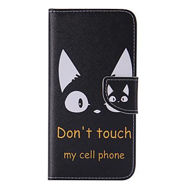 Maska Pentru Samsung Galaxy S8 Plus S8 Titluar Card Portofel Cu Stand Întoarce Model Corp Plin Pisica Greu PU Piele pentru S8 S8 Plus
