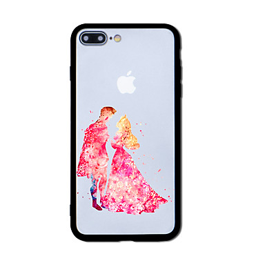 hoesje Voor Apple iPhone 7 Plus iPhone 7 Patroon Achterkant Tegel Hard Acryl voor iPhone 7 Plus iPhone 7 iPhone 6s Plus iPhone 6s iPhone