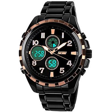 Smart horloge Waterbestendig Multifunctioneel Lange stand-by Sportief Stopwatch Wekker Dubbele tijdzones Kalender Chronograaf Other Geen