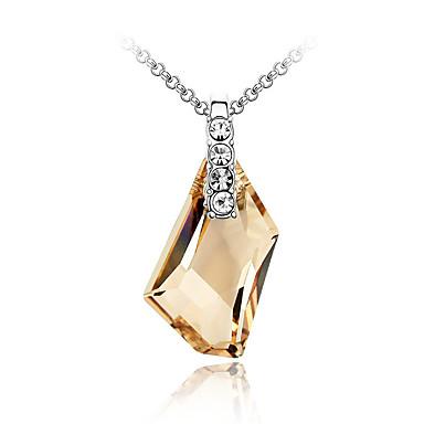 للمرأة قلائد الحلي مجوهرات مجوهرات كريستال سبيكة موضة euramerican في والمجوهرات مجوهرات من أجل زفاف حزب