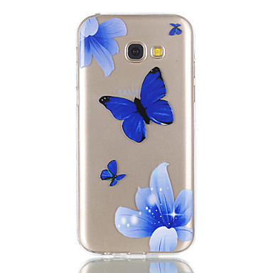hoesje Voor Samsung Galaxy A5(2017) A3(2017) Transparant Patroon Achterkantje Zacht voor A3 (2017) A5 (2017)