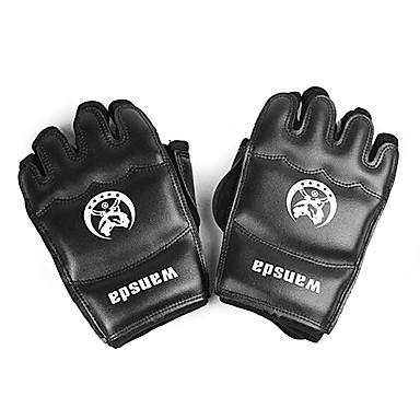 Rękawice bokserskie Treningowe rękawice bokserskie için Boks Karma Dövüş Sanatları (MMA) Muay Thai Sanda Karate Parmaksız