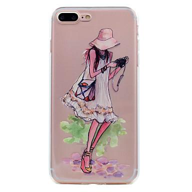 Voor iphone 7 plus 7 telefoon hoesje tpu materiaal droom meisje serie telefoon hoesje 6s plus 6 plus 6s 6 5s 5 se