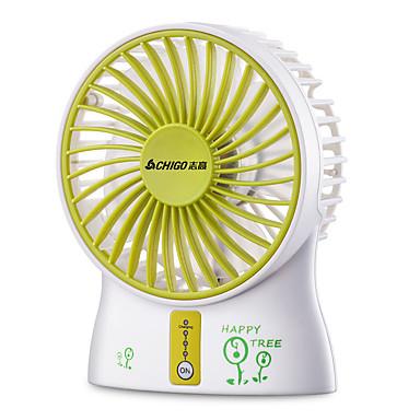 Lüftungsventilator Aufrechtes Design Cool und erfrischend Licht und Bequem Mehrere Lademodi Windgeschwindigkeitsregelung Kopfschütteln USB