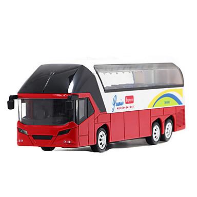 سيارات السحب لعبة سيارات حافلة ألعاب حافلة سبيكة معدنية معدن قطع للجنسين هدية