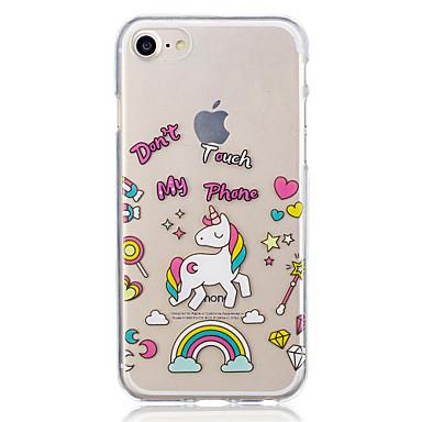 Voor apple iphone 7 plus 7 eenhoorn patroon geval achterkant behuizing zachte tpu voor apple iphone 6s plus 6 plus 6s 6 5 5s se