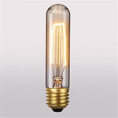 1 buc 60W E26/E27 T10 2300 K Incandescent Vintage Edison bec AC 220V AC 110-220 AC 110-130V AC 220-240V V