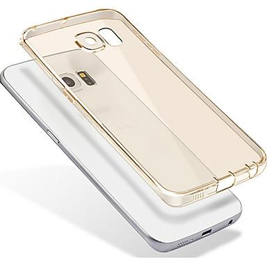 Maska Pentru Samsung Galaxy Translucid Transparent Capac Spate Culoare solidă Moale TPU pentru S7