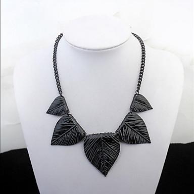 Pentru femei Coliere Choker Coliere Bijuterii Leaf Shape Aliaj Design Basic Design Unic Acrilic Prietenie Bikini La modă Vintage Bohemia