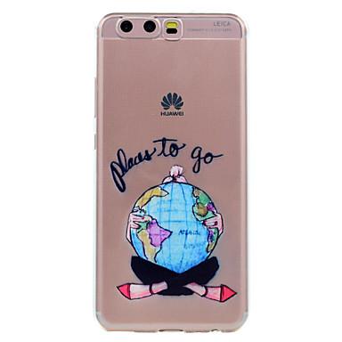 Voor huawei p10 p10 lite telefoon hoesje sexy meisje patroon zachte tpu materiaal telefoon hoesje p10 plus p8 lite (2017)