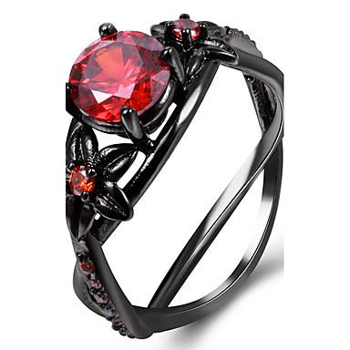 Pentru femei Inele Afirmatoare Inel Diamant sintetic Personalizat Lux Clasic De Bază Modă Euramerican stil minimalist Englezesc Articole